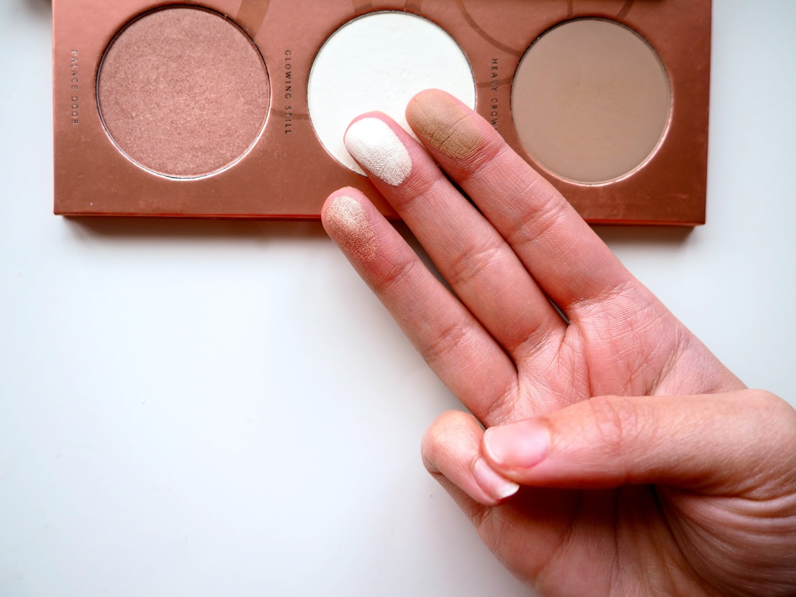 Zoeva Rose Golden Blush Palette swatches blog review