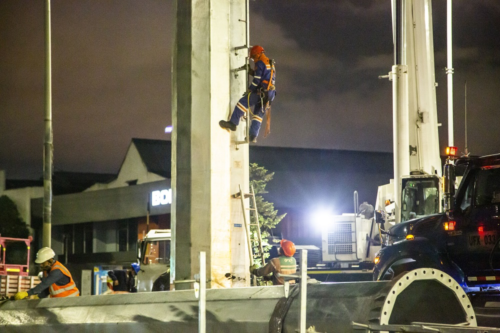 hoyennoticia.com, Trasladas redes eléctricas para obras del Metro de Bogotá