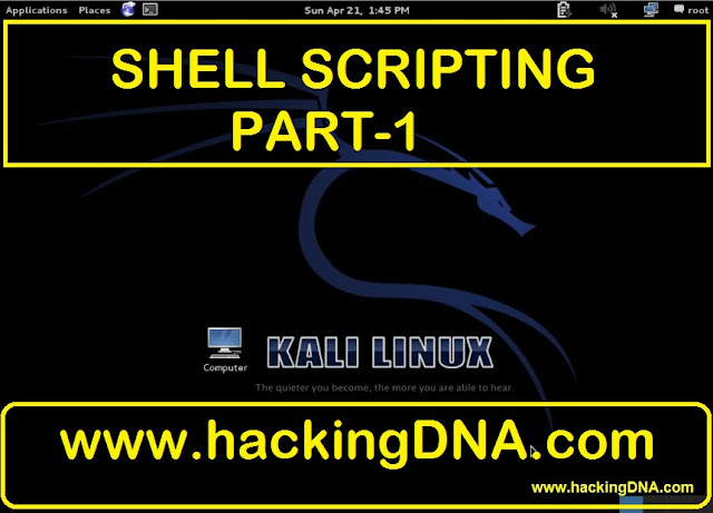 Shell Scripting On Kali Linux