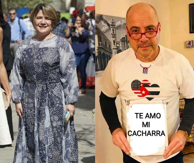 La primera dama Lis Cuesta tiene un romance con Carlos Lazo