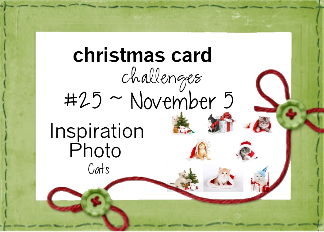 Donna\'s Crafty Place: Christmas Card Challenge #25