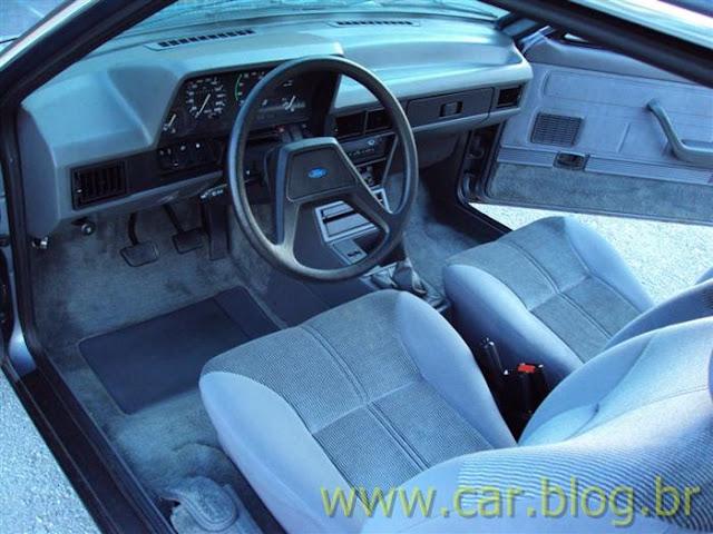 Ford Del Rey Ghia 1.8 1989 - interior