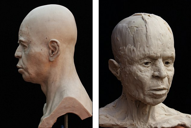 Face of 9,500 year old Neolithic man from Jericho reconstructed