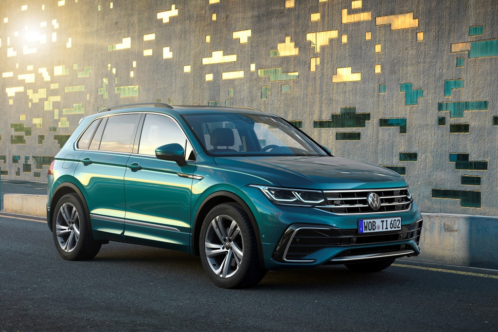Volkswagen Tiguan có thêm bản hiệu năng cao mạnh 315 mã lực