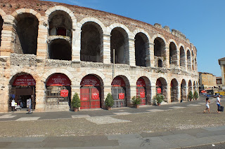 The Arena di Verona held more than 30,000 spectators for events in Roman times