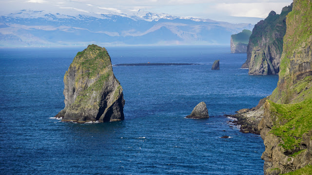The Westman Islands are home to Elephant Rock Iceland
