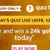 (All Answers)Amazon24k Gold Bar Quiz – Answer and Win24k Gold Bar