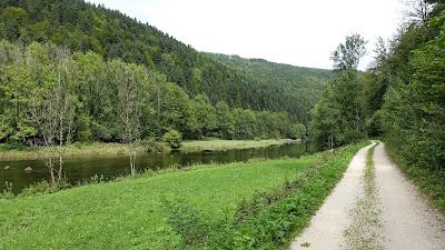 Am Doubs zwischen Goumois und Moulin Jeannotat
