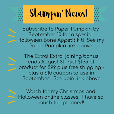 Nicole Steele The Joyful Stamper's Stampin' News