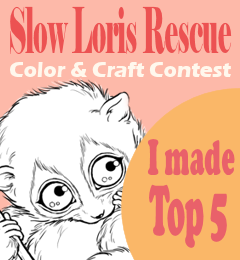 Top 5 for my Loris Fundraiser card