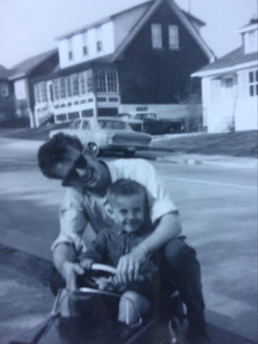EARLY STARTER: My big brother Tom enrolled me early inMe, in Young Designated Drivers of Canada