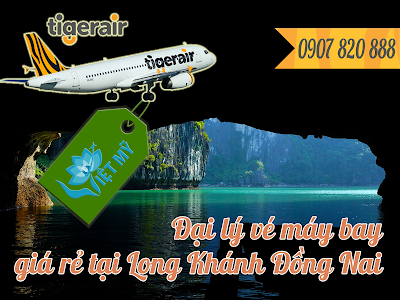 Đại lý vé máy bay tại Long Khánh Đồng Nai