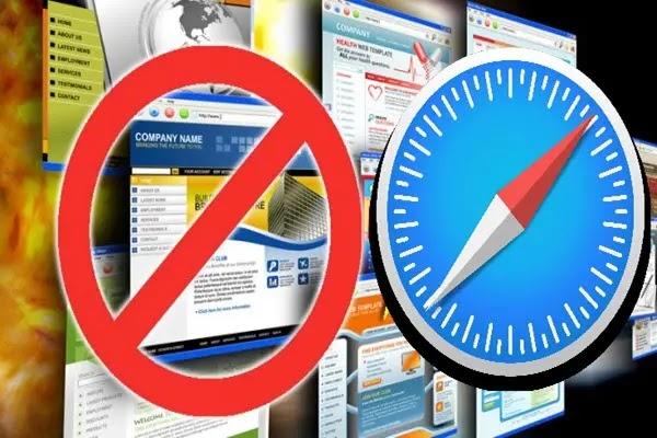 كيفية حظر مواقع الويب في متصفح الويب سفاري على آيفون والماك وآيباد
