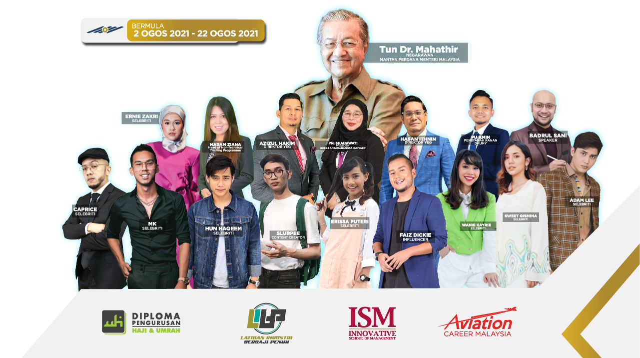 Panduan Hala Tuju Kerjaya Selepas SPM Bersama YEG Academy dan Tun Mahathir