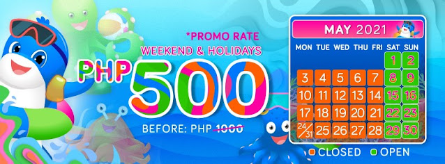 WaterWorld Cebu Promo Rate 2021