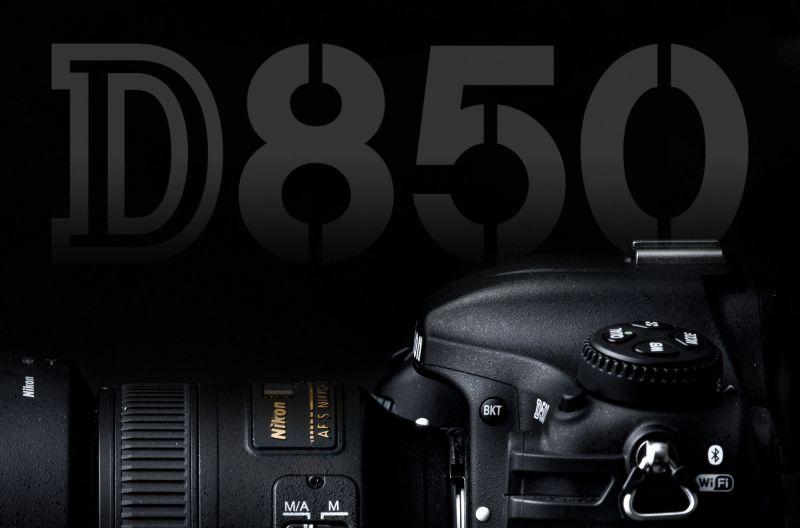 Логотип Nikon D850