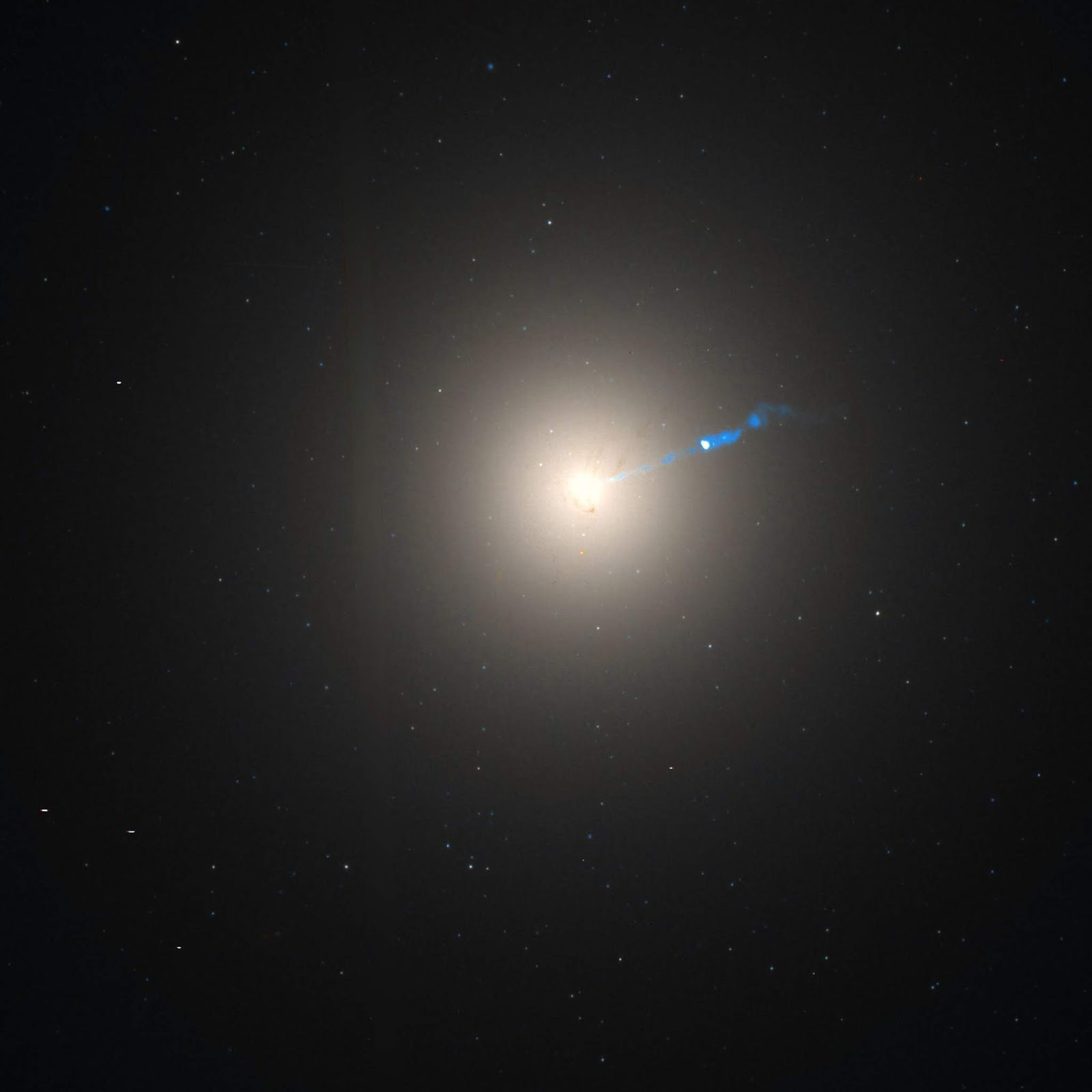 Messier 87 galaxy far away 53 billion light years