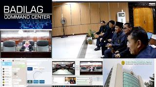 Pembinaan dan Monitoring 9 Aplikasi Unggulan Badan Peradilan Agama oleh Sekretaris Direktorat Jendral Badan Peradilan Agama Mahkamah Agung Republik Indonesia  Drs.Arif Hidayat, S.H.M.M  di Wilayah Pengadilan Tinggi Agama Palembang