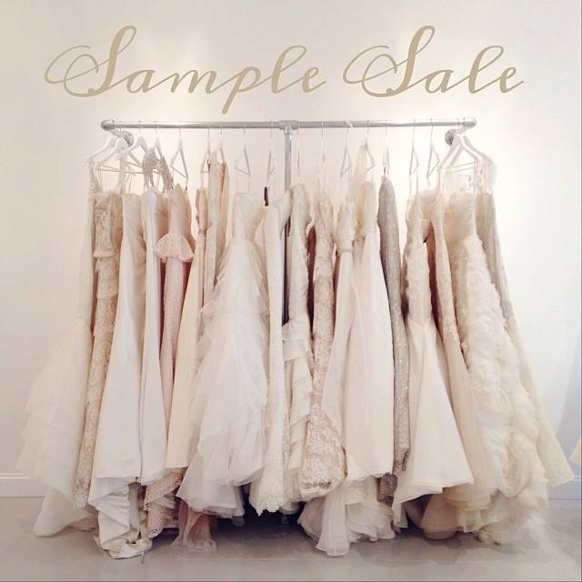 top tips for shopping a bridal sample sale