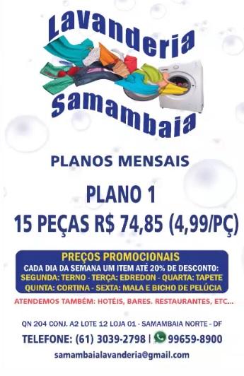 LAVANDERIA SAMAMBAIA