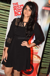 Megha Akash at The launch of The Red Box   Soups and Momos March 2017 013.JPG