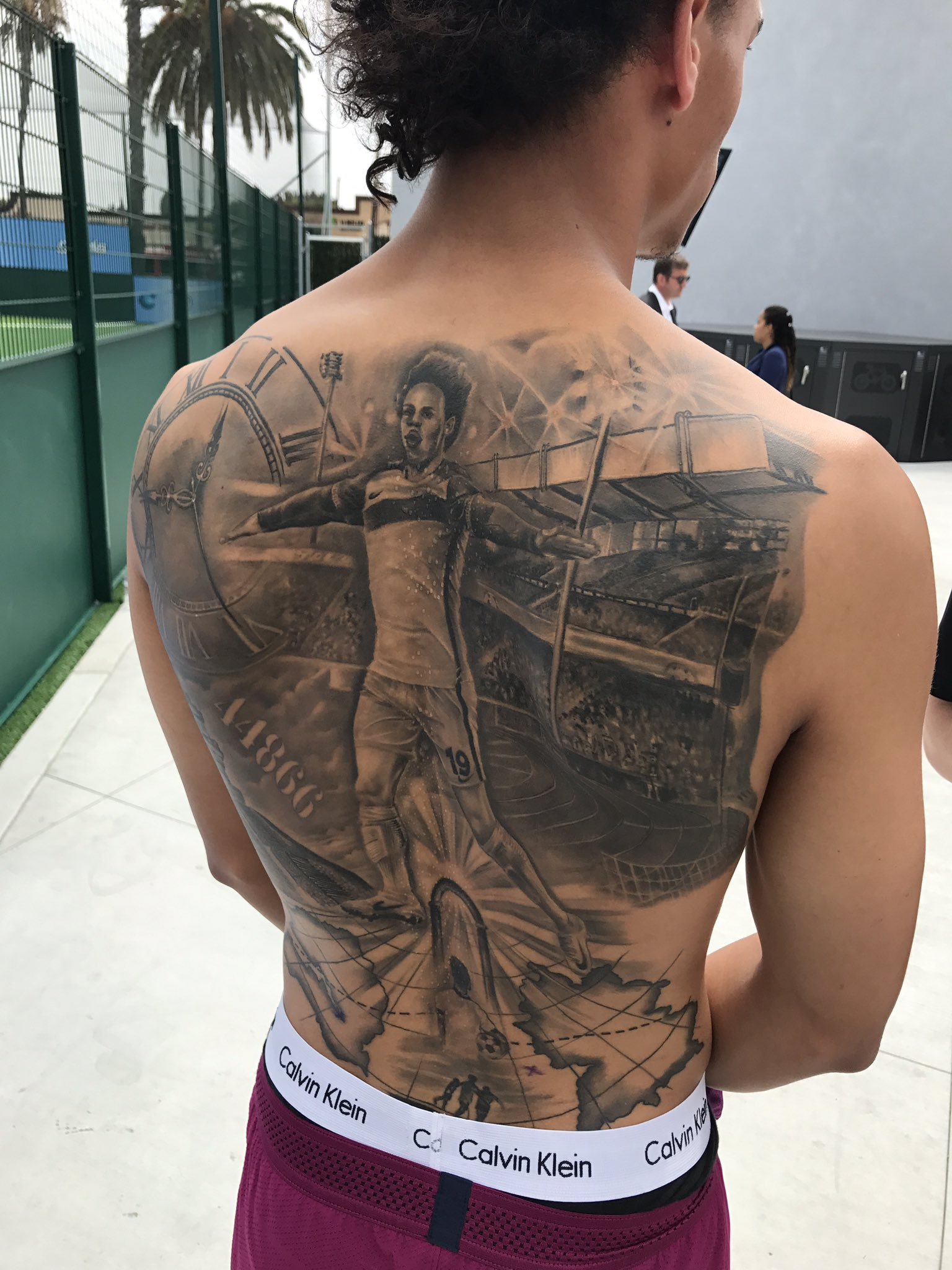 Leroy Sané regrets getting infamous Manchester City back tattoo