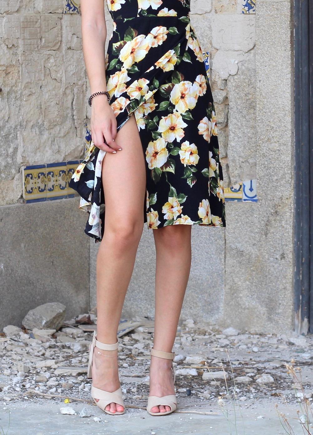peexo summer style midi dress
