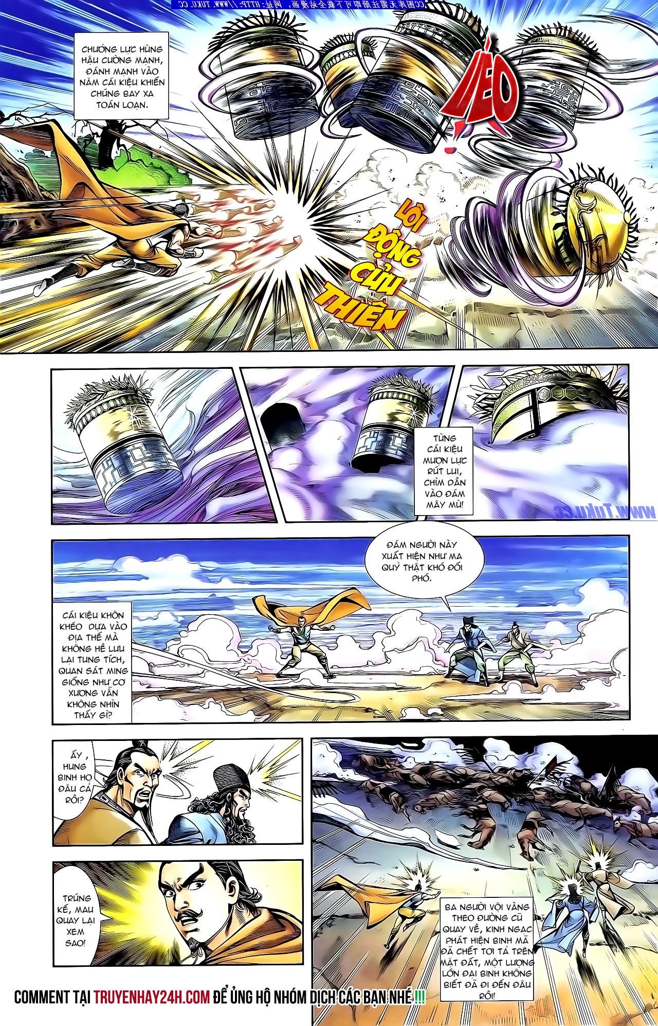 Cơ Phát Khai Chu Bản chapter 133 trang 26