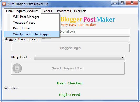 Auto Blogger Post Maker