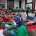 Sambut HUT TNI Ke-75 Yonmarhanlan 1 Gelar Donor Darah
