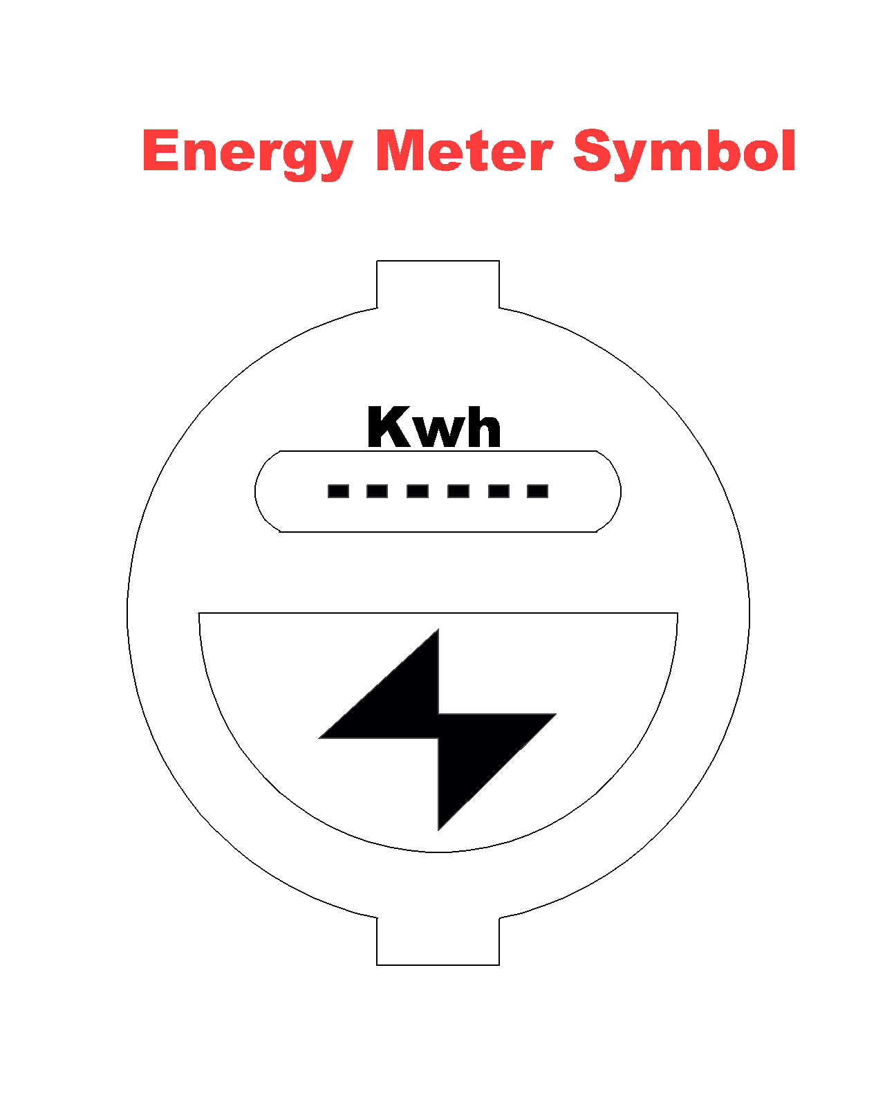 Induction Type Single Phase Energy Meter