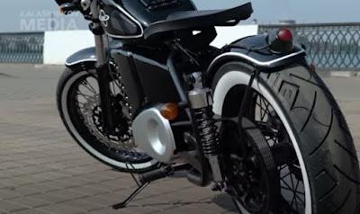 Photo of Kalashnikov motorcycle.