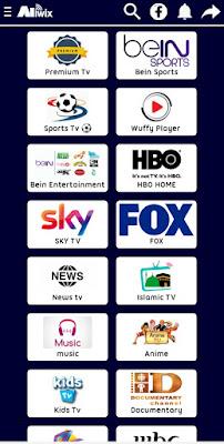 تحميل ALIWIX TV APK تطبيق جديد لمشاهدة كل القنوات العربية والعالمية