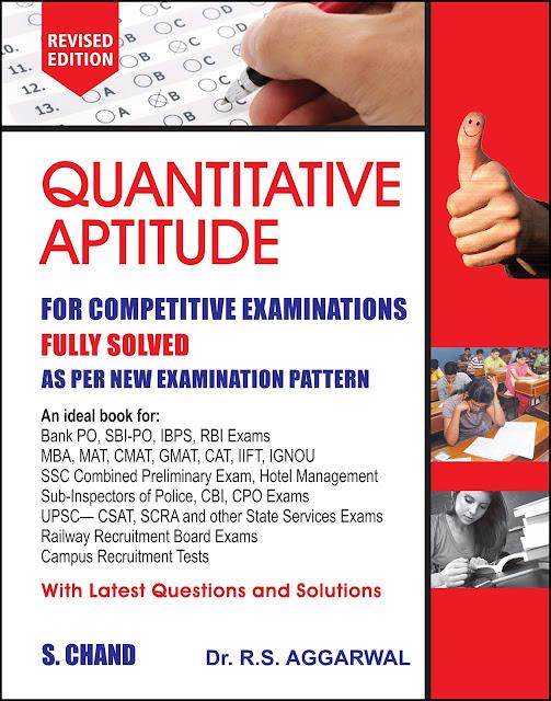Quantitative aptitude books By-Agarwal