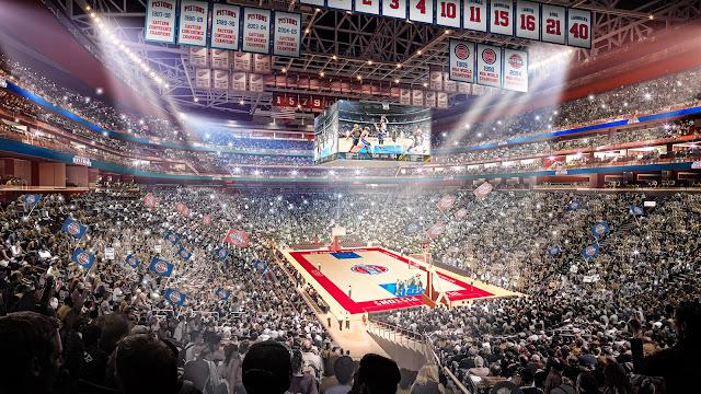 Los Pistons vuelven a Detroit 29 años después