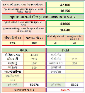 Increment Calculator  excel & pdf file For Govt employee