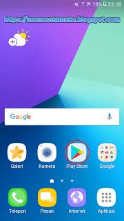 logo toko aplikasi milik google