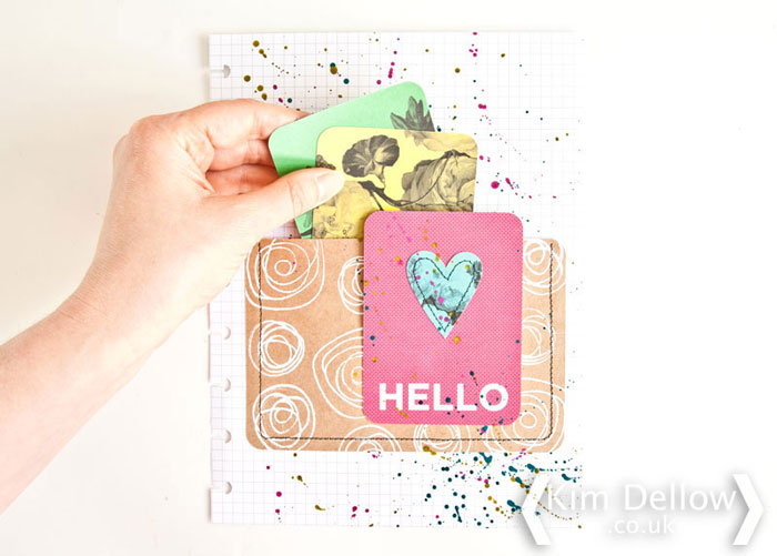 Click to Blitsy Blog Tutorial to make a planner pocket