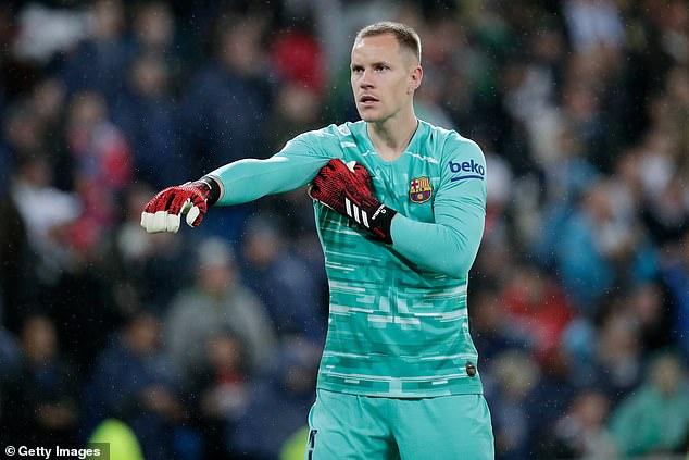 Ter Stegen tạm dừng đàm phán gia hạn với Barca
