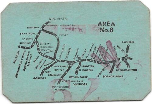1951 Runabout Ticket incl. Gosport