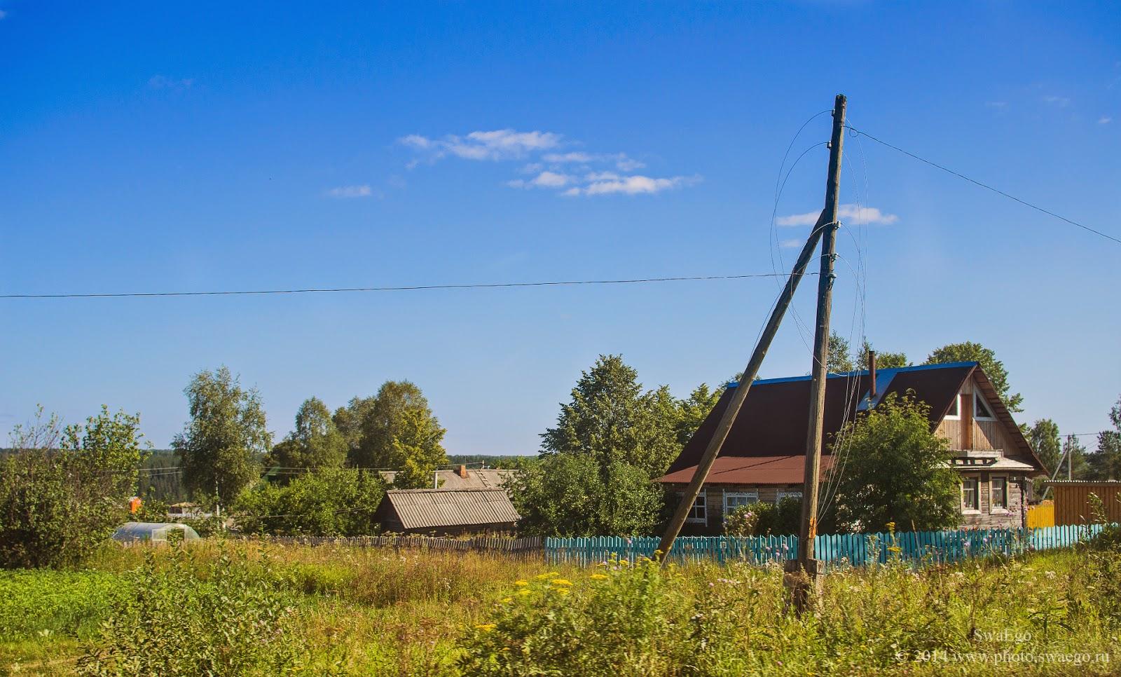 Каникулы в Вологде: Сямжа