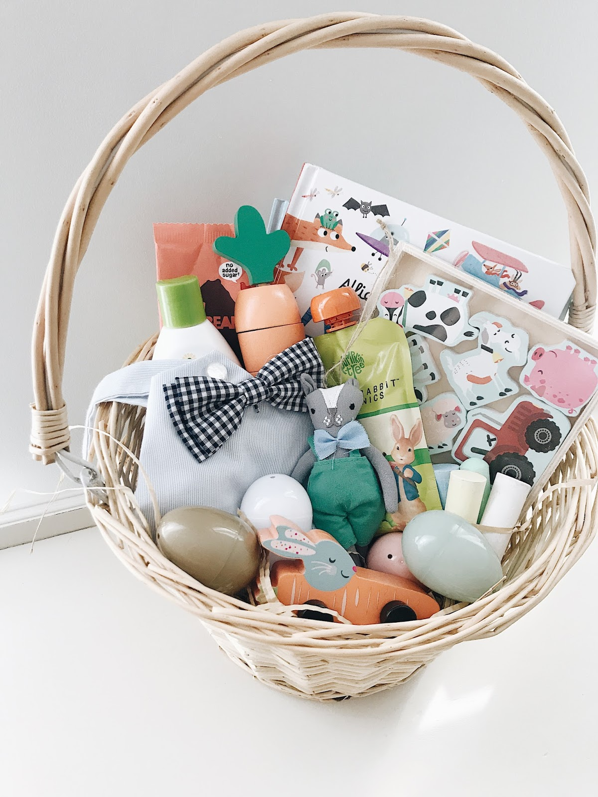 An easter basket for parks olive june easter is coming soon and so is the easter bunny even before i became a mom i loved making my husband an easter basket each year now negle Image collections