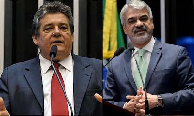 Marília anuncia Silvio e Humberto para o Senado