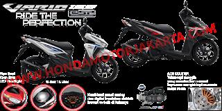 Fitur dan Spesifikasi Honda Vario 125 eSP CBS FI