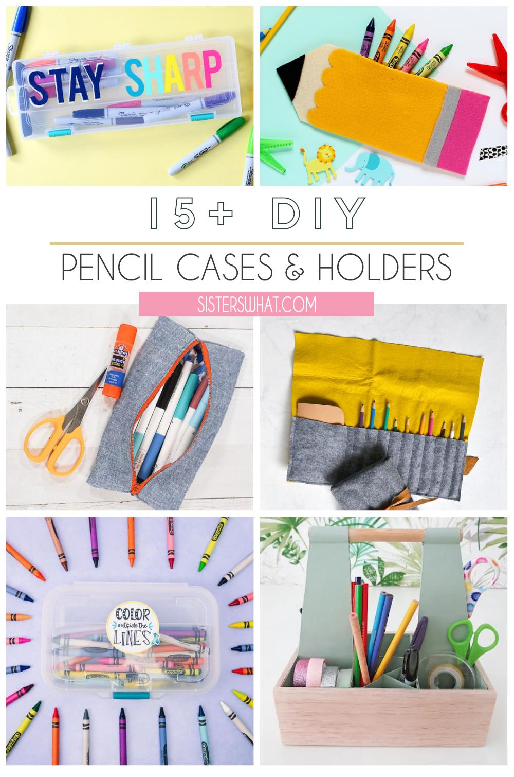 DIY pencil cases you can make easy