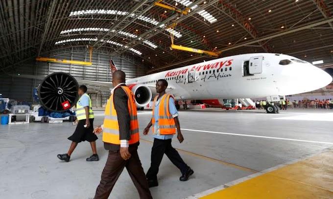 Kenya Airways in first direct flight to US