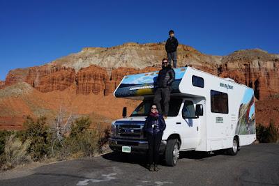 Roteiro de 15 dias de viagem de motorhome pelo oeste dos EUA
