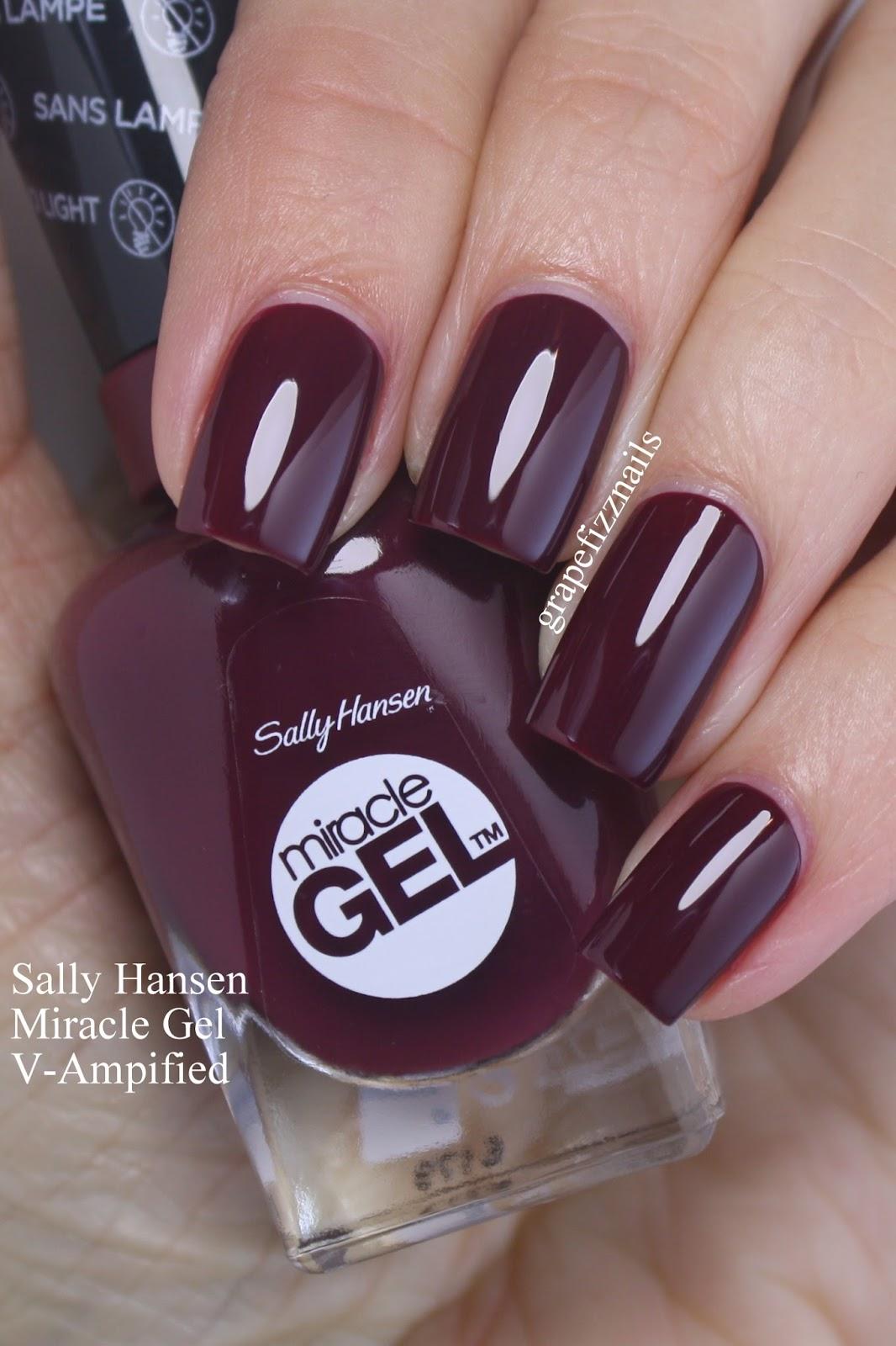 Grape Fizz Nails: Sally Hansen Get Red-y to Celebrate!