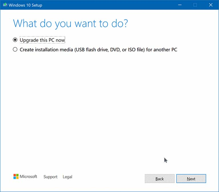 Cara Upgrade Komputer Ke Windows 10 Versi 1909