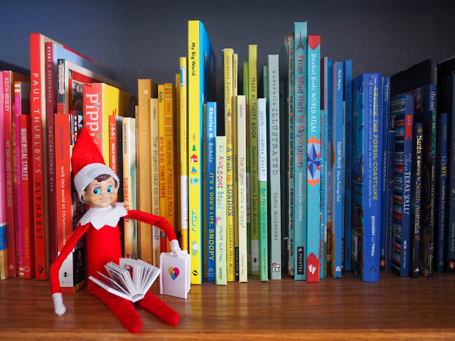 Elf on the Shelf and Social Print Studio mini books